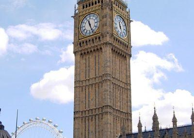Big Ben v Londonu