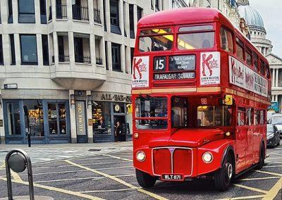 Avtobus v Londonu